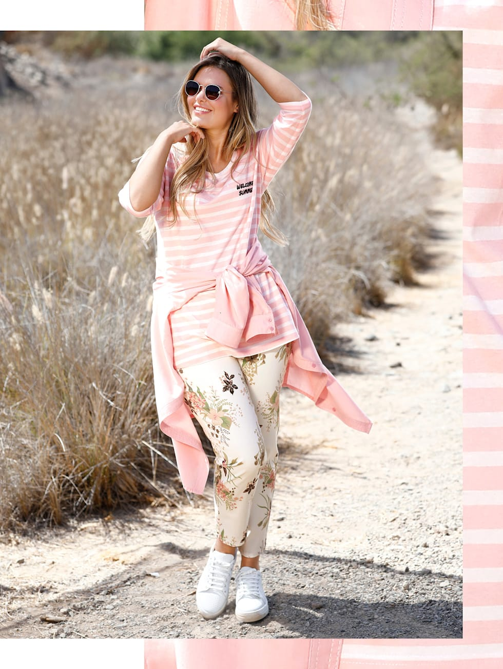Soft Pastell Power Outfit | HAPPYsize
