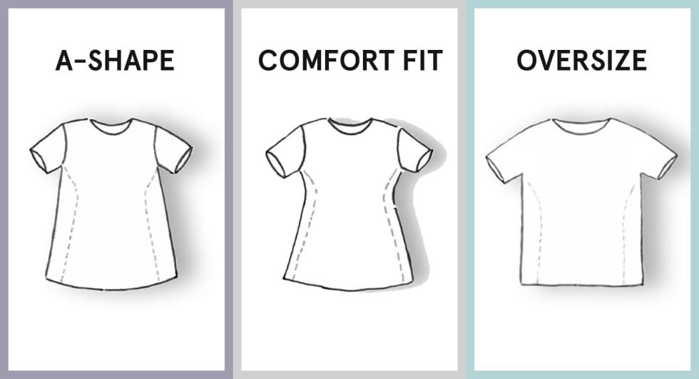 Shirt Guide Damen
