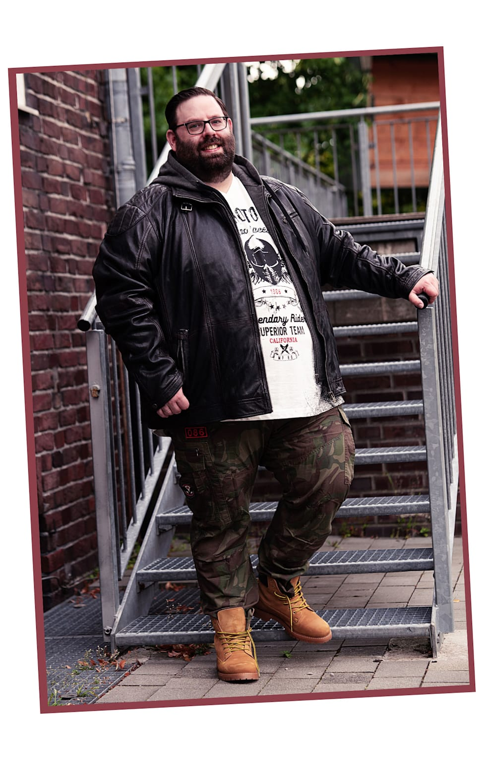 Outfit Camouflage-rockig