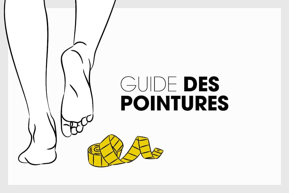 Guide de pointures