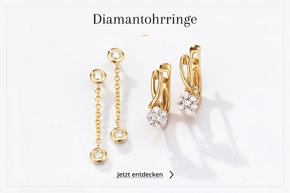 Diamantohrringe