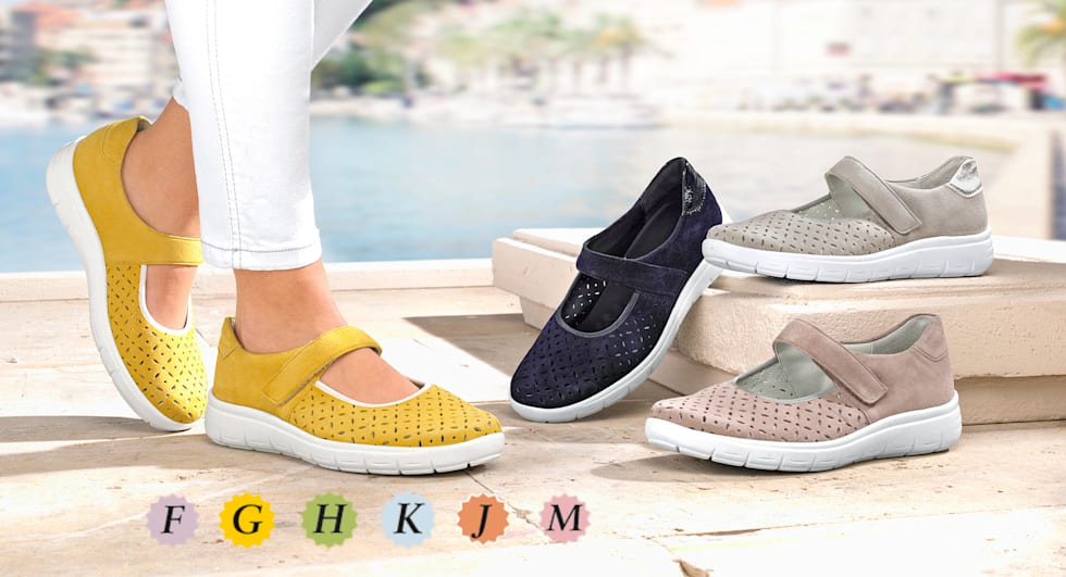 Schuhe in Mehrweiten