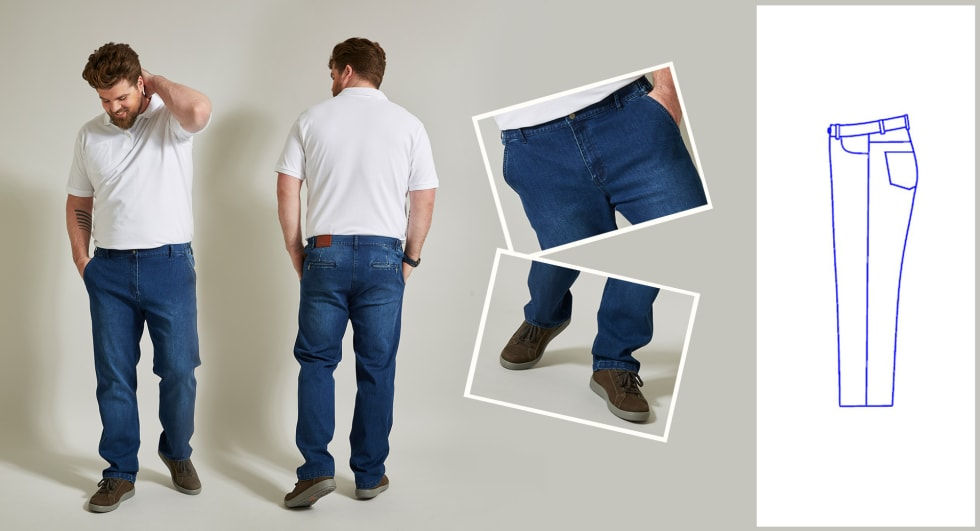 Regular Fit Jeans Heren