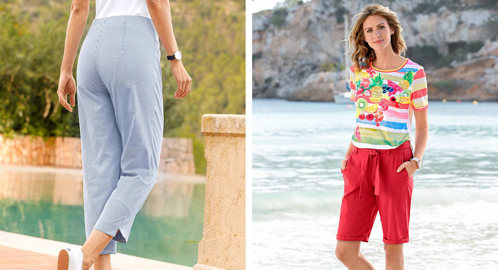 J'adopte les pantalons d'été MONA