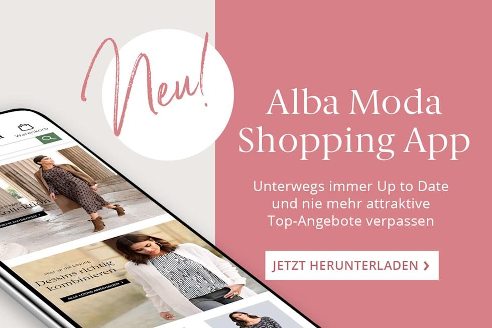 NEU: Alba Moda Shopping-APP