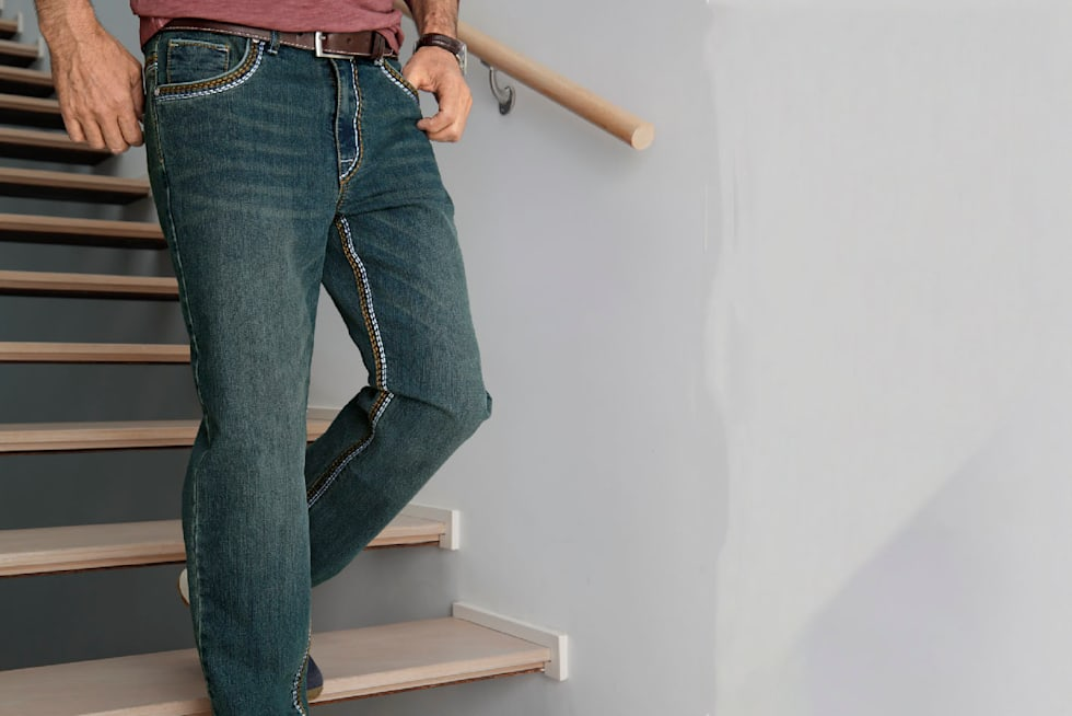 Jeans in Plus Size für Herren