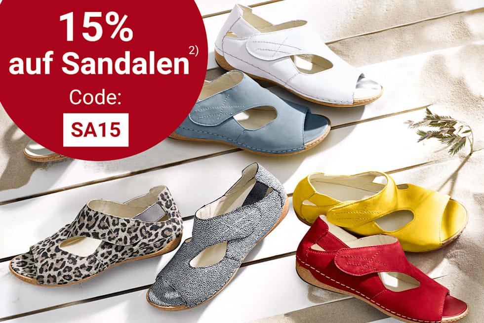 15% auf Damen-Sandalen