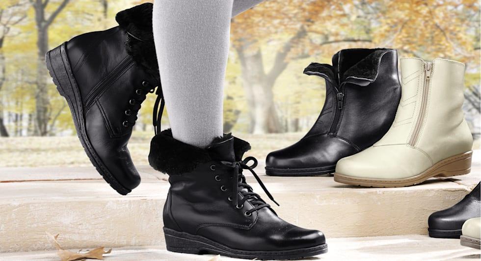 Gefütterte Schuhe für Sie und Ihn