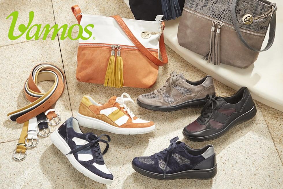 Schuhe der Marke Vamos
