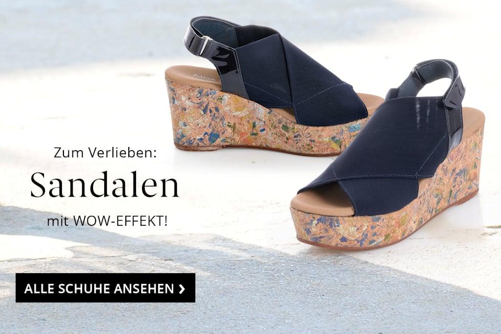Den Sommer begrüßen mit frischen Sandaletten von Alba Moda