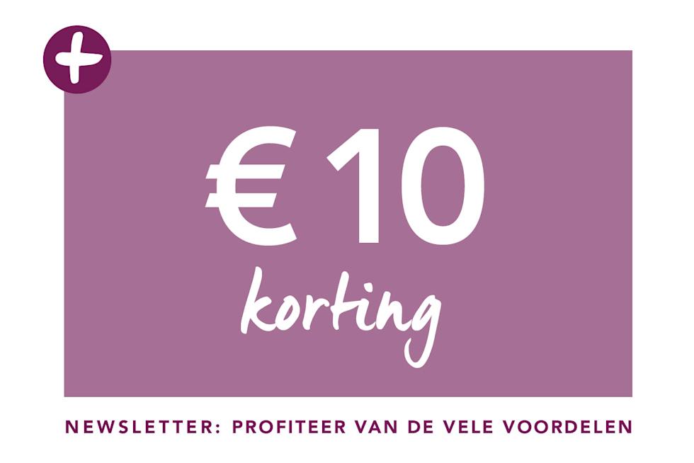 €10 korting newsletter: profiteer van de vele voordelen
