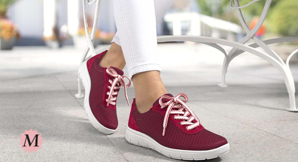 Schuhe in Spezialweite M für den sehr krätfigen Fuß