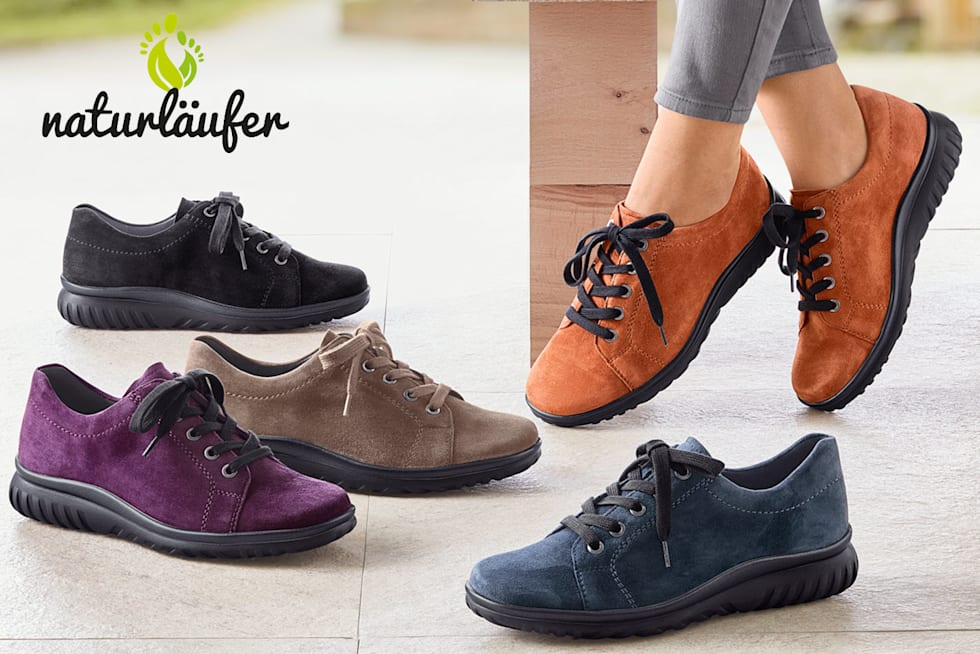 Schuhe der Marke Naturläufer