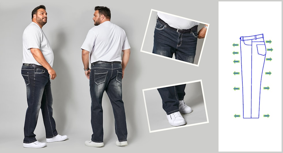 Jeans_homme_Comfort_Fit