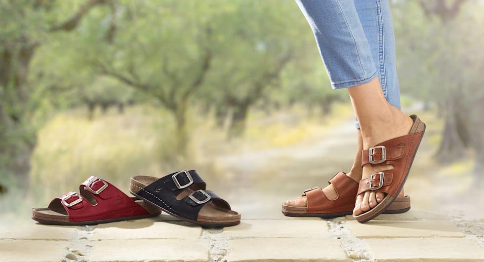 Mettez-vous à l'aise avec nos chaussures d'intérieur et nos mules tendance.