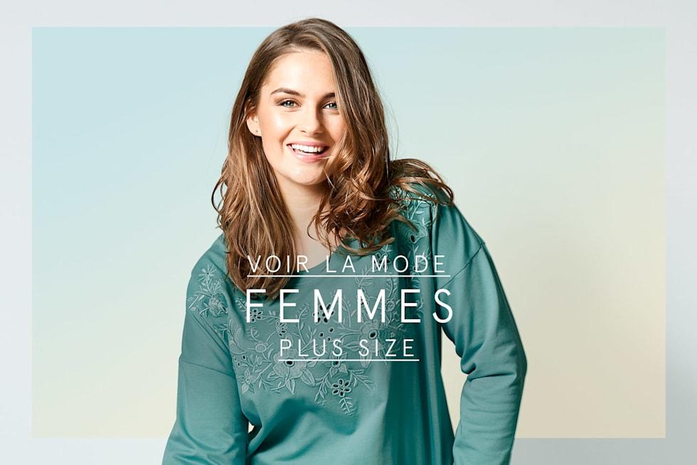 Voir la mode femmes plus size