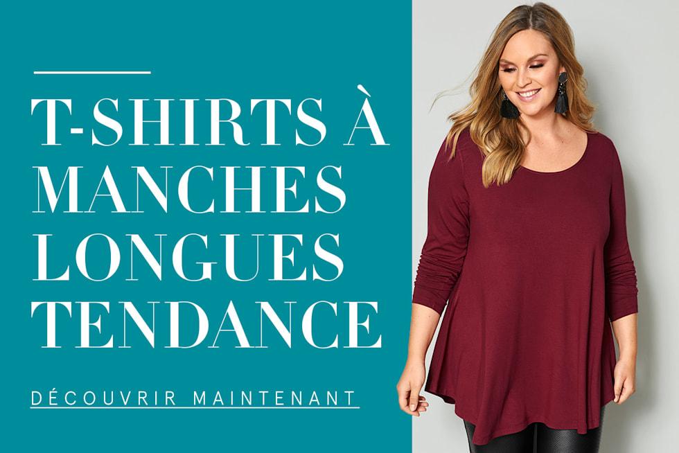 T-shirts à manches longues tendance
