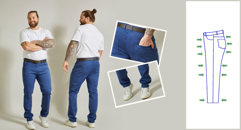 Jeans homme Slim Fit