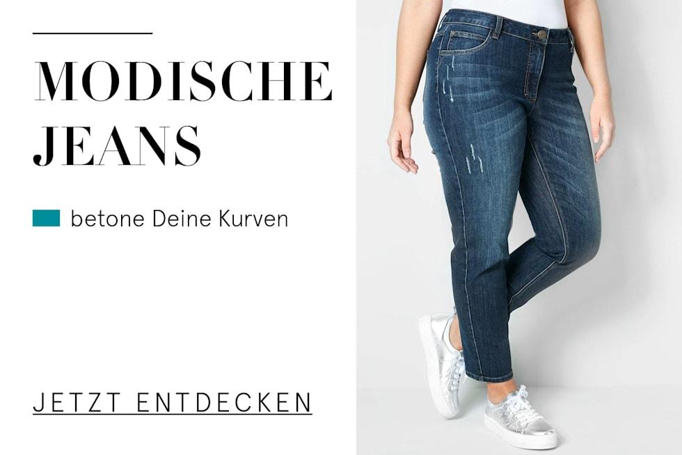 Modische Damen Jeans