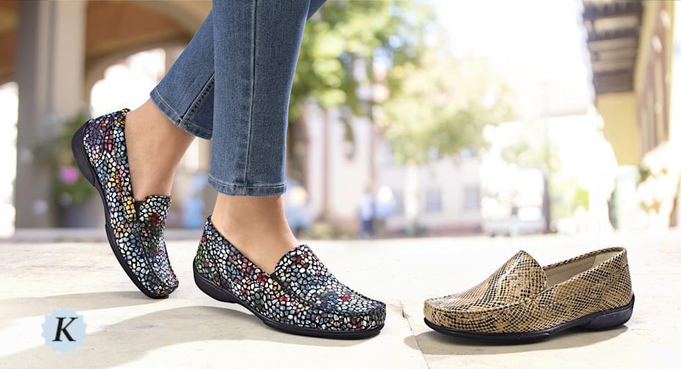 Schuhe in der Spezialweite K für den kräftigen Fuss