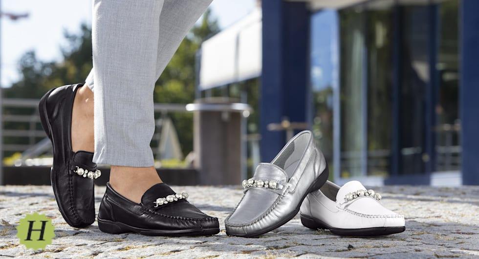 Schuhe der Bequemweite H für etwas kräftigere Füsse