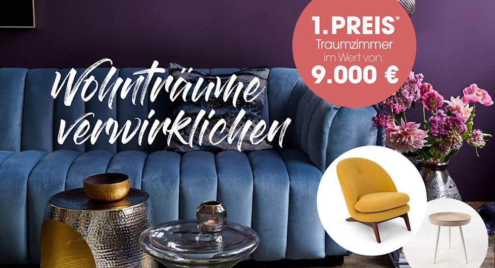 MIAMODA Große Größen ein Traumzimmer im Wert von 9.000€ gewinnen