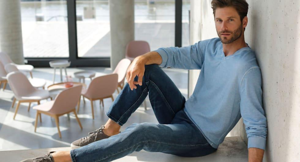 Vêtements chauds: le pullover homme