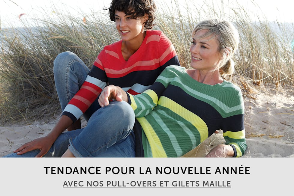 Les pull-overs & gilets maille pour femme