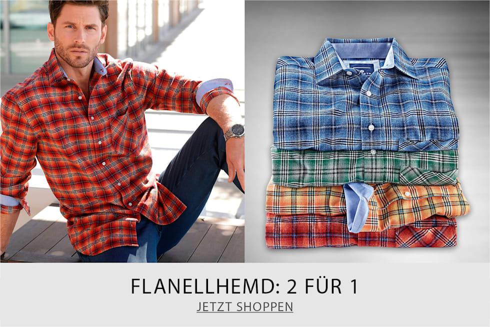 Flanellhemd - 2 FOR 1