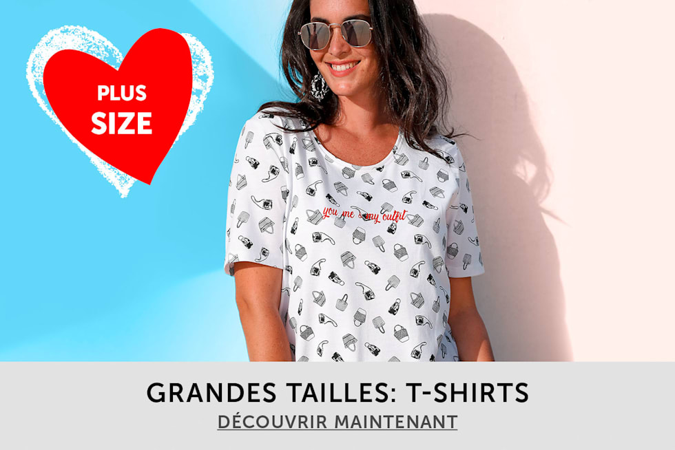 Grandes tailles: T-Shirts