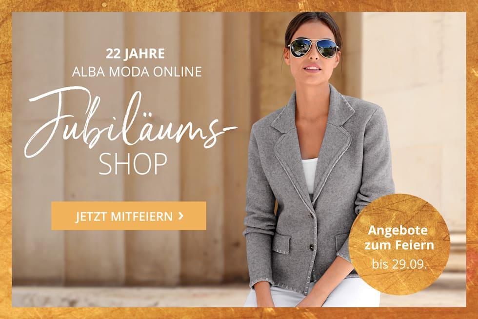 Jubiläums-Shop | 22 Jahre Alba Moda Online