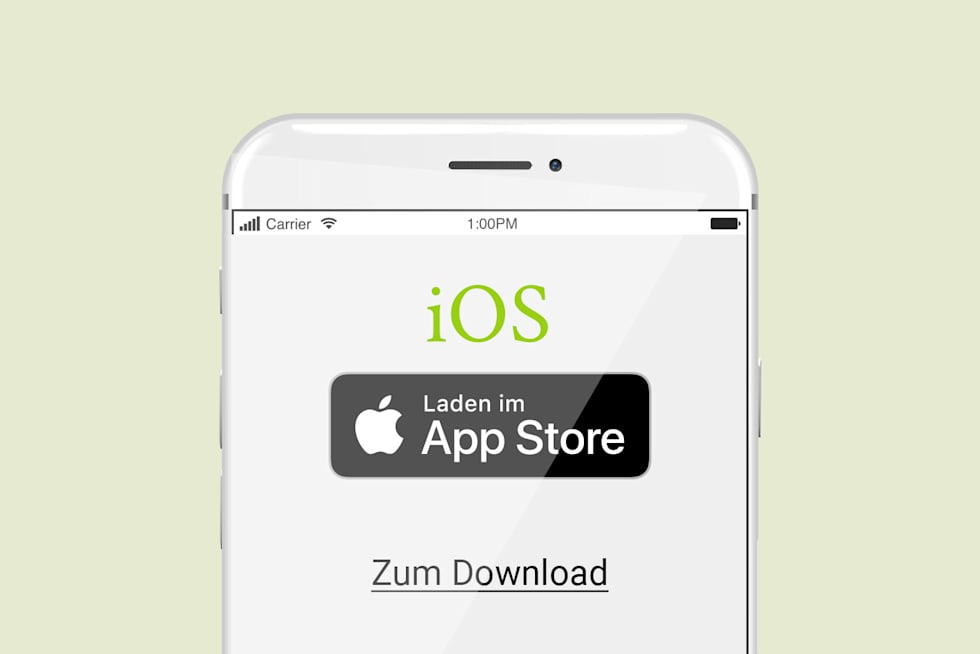 App im APP Store downloaden