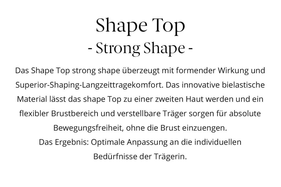 ITEM m6 Shape Top