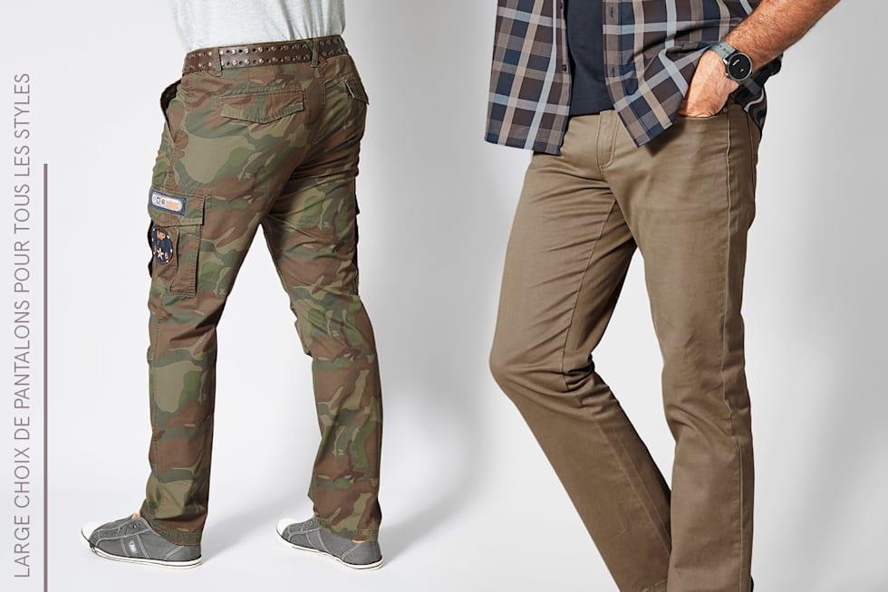 Large choix de pantalons pour tous les styles