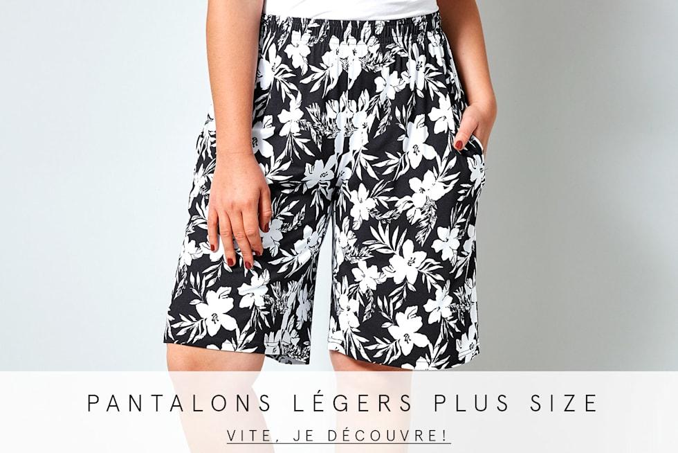 Pantalon légers plus size