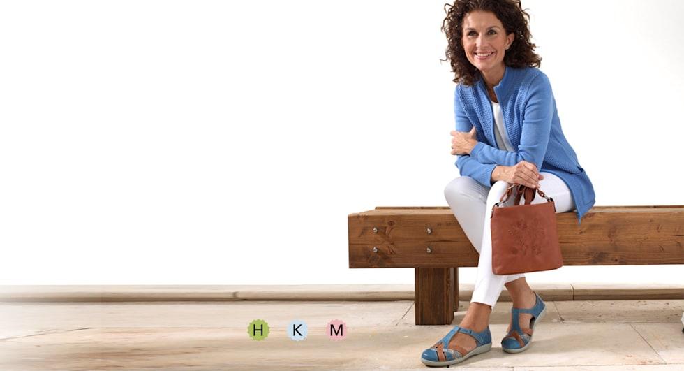 Schoenen in comfort- wijdte H en in comfortwijdte K en M voor extra brede voeten
