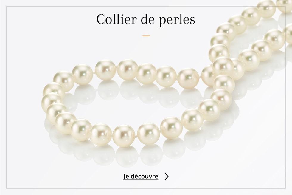 Chaînes et colliers perles