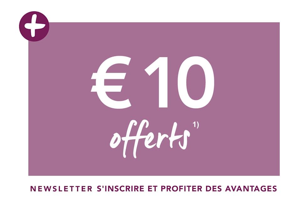 €10 offerts s'inscrire et profiter des avantages