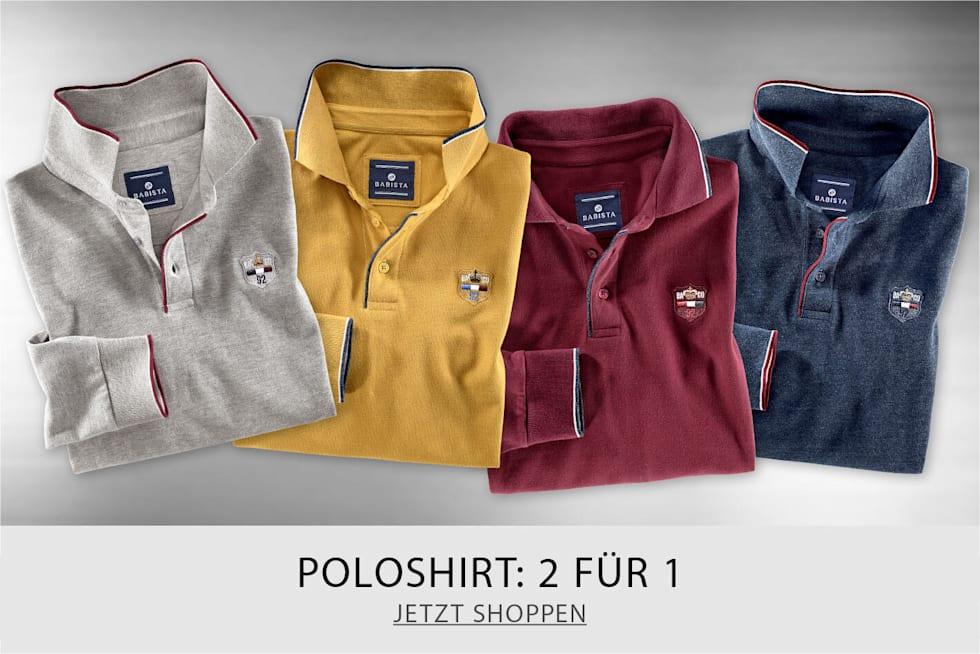 Poloshirt - 2 Für 1