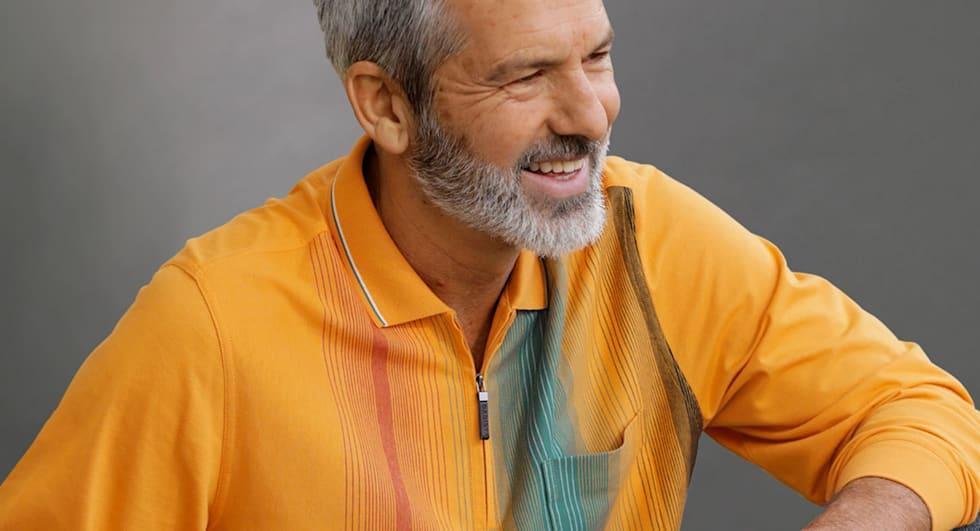 Poloshirts kommen nie aus der Mode