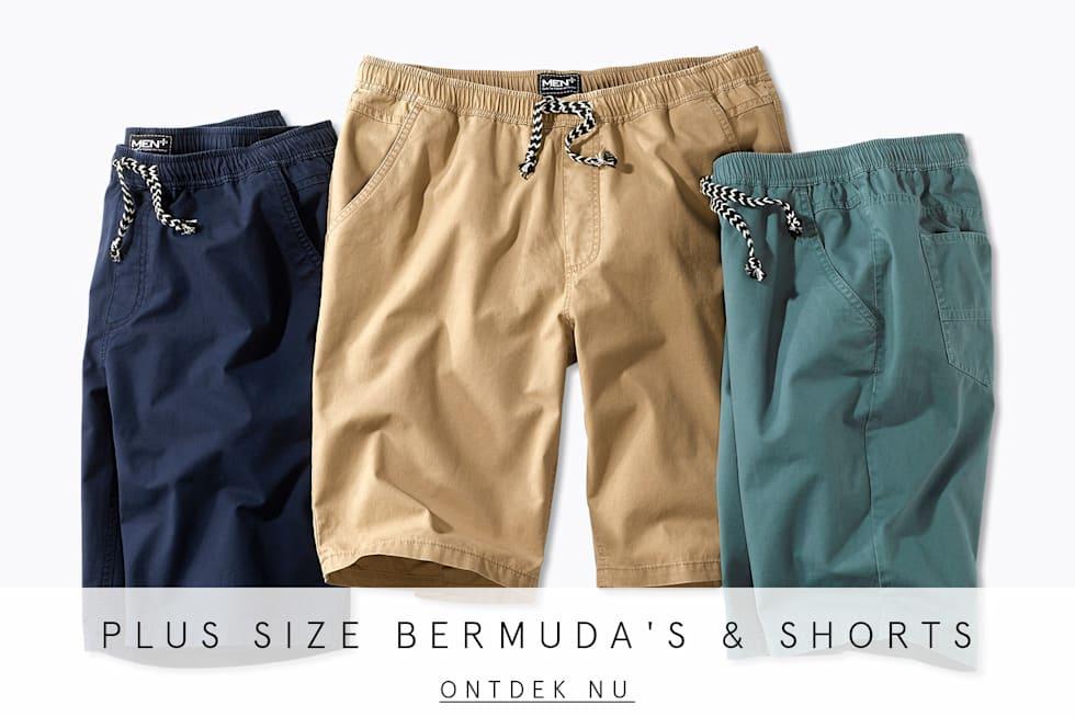 Plus Size bermuda's & shorts
