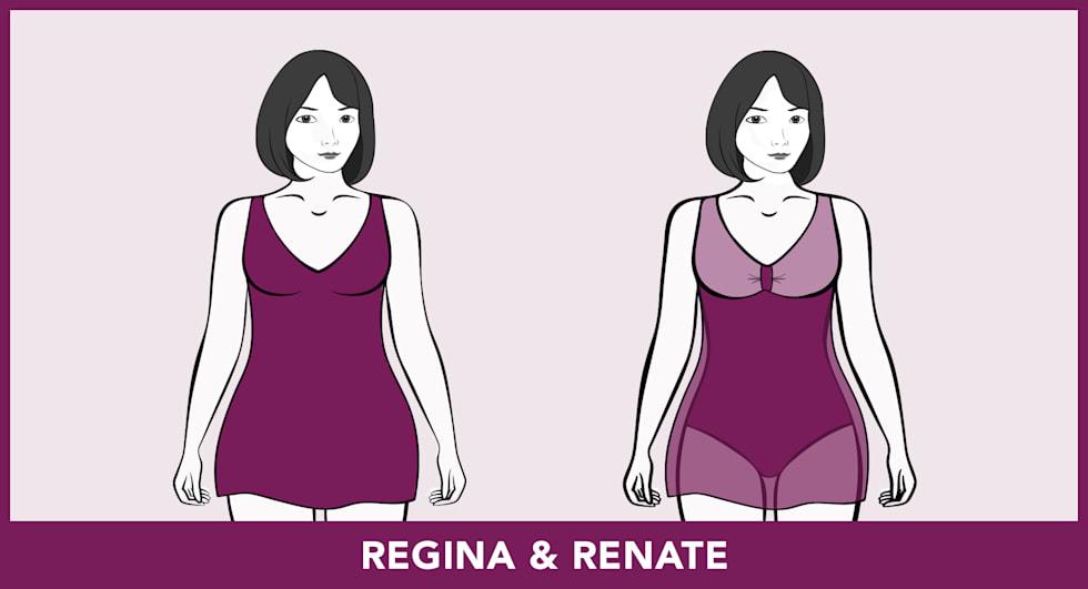 Modèles de maillots de bain - Regina & Renate