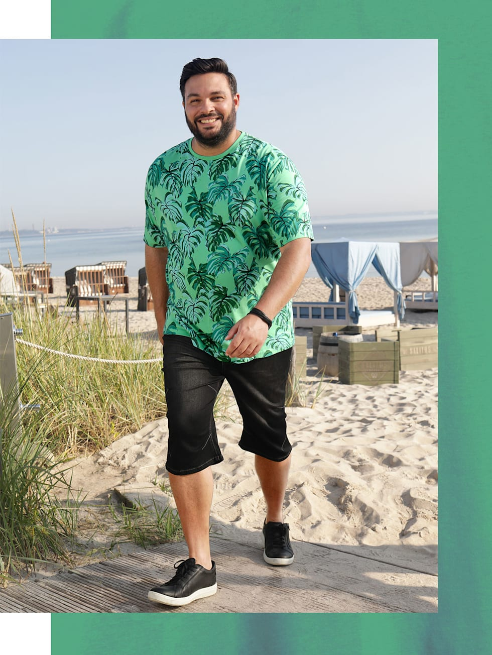zomer outfit mannen