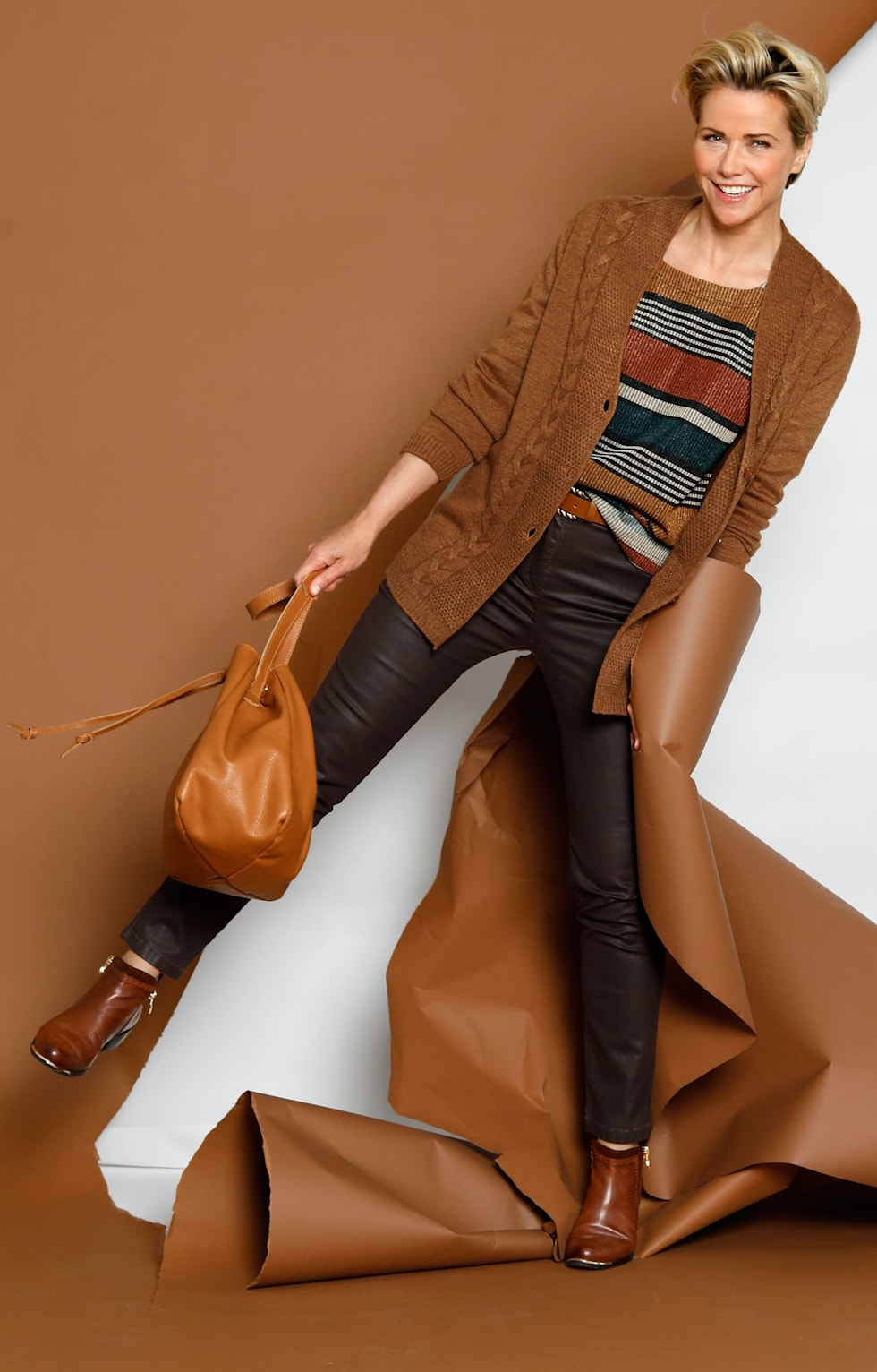"Shop the outfits: ""Brown is the new black"""
