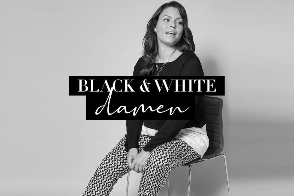 Trend Black & White Damen