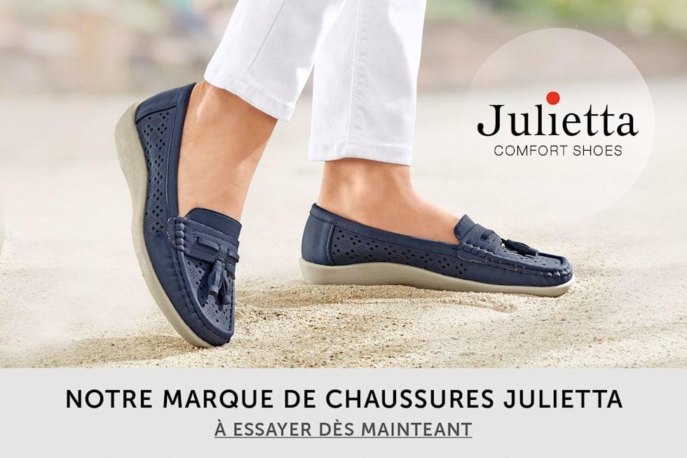 Notre marque de chaussures Julietta