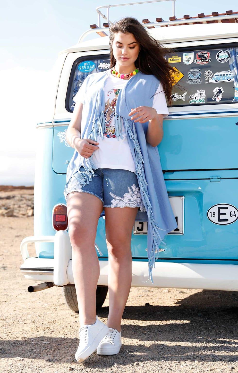 Sommeroutfit Damen Hippie Style