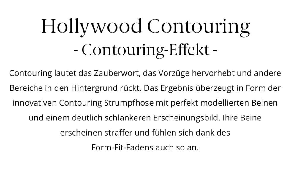 ITEM m6 Hollywood contouring