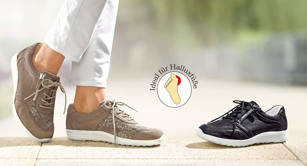Hallux Valgus Schuhe bei Vamos