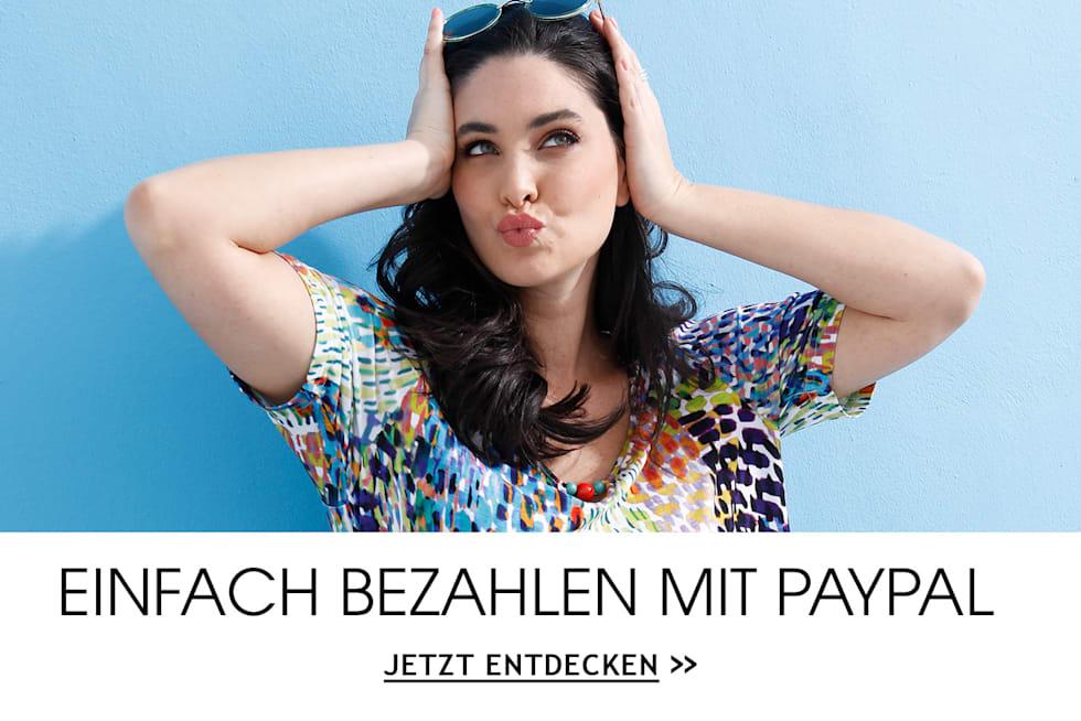 MIAMODA Gro0e Größen Einfach bezahlen mit Paypal